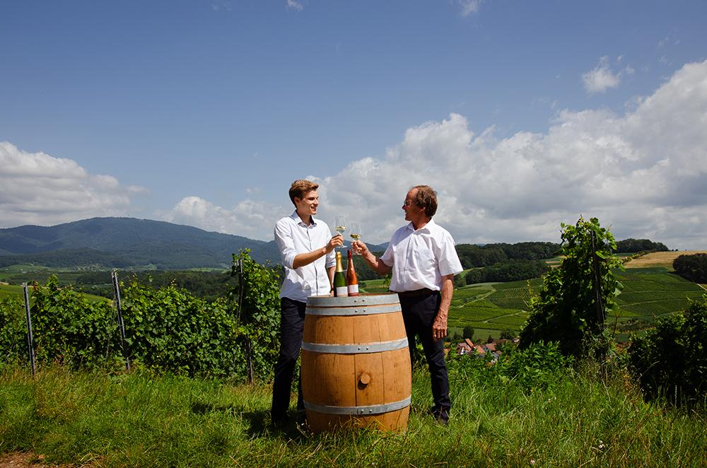 Simon und Friedrich Sommerhalter